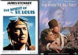 Gary Cooper & James Stewart Classic Hollywood Bundle - For Whom the Bell Tolls & The Spirit of St. Louis as Charles Lindbergh 2-DVD Bundle