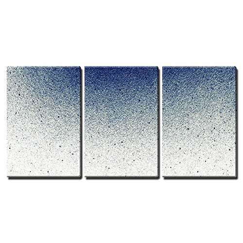 """Wall26 - 3 Piece Canvas Wall Art - Abstract Splatted Background - Modern Home Decor Stretched and Framed Ready to Hang - 16\""""x24\""""x3 Panels"""