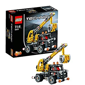 lego technic 42031 cherry picker toys games. Black Bedroom Furniture Sets. Home Design Ideas