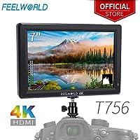 FEELWORLD T756 7 Inch DSLR Camera Field Monitor 4K HDMI...