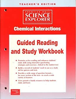 chemical interactions guided reading and study workbook teacher s rh amazon com Chemical Interaction Matrix Chemical Interaction Matrix
