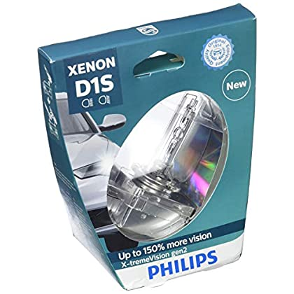 Image of Bulbs PHILIPS Xenon X-TremeVision Gen2 +150% D1S HID Xenon Bulbs Set Of Two 85415XV2S1