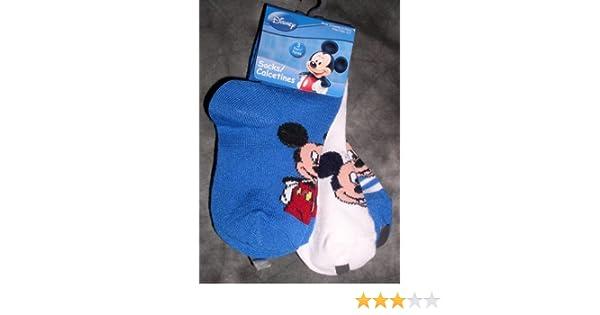 Amazon.com: Disney Baby Mickey Mouse Low Cut Socks, 3 Pair, Size 2-4: Baby