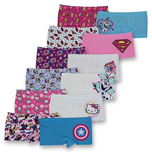 c63f9ab9a Disney Girls Boyshort Assorted Underwear Pack Of 12 - M - Buy Online in  Oman. | Apparel Products in Oman - See Prices, Reviews and Free Delivery in  Muscat, ...