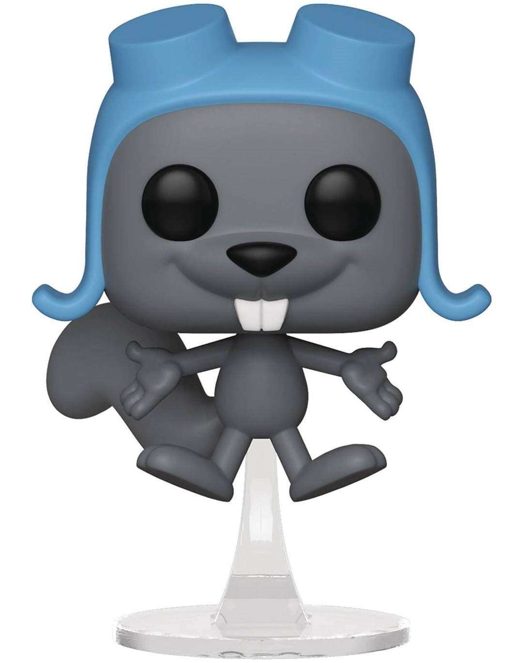 Funko Animation: Rocky /& Bullwinkle Includes Compatible Pop Box Protector Case Flying Rocky Pop Vinyl Figure