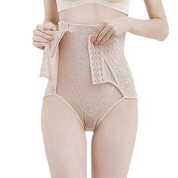 1pc Women High Waist Panties Seamless Slim Underwear Tummy Body Shaper
