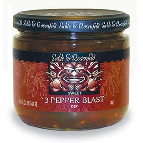 (3 Pepper Blast Sweet Dip 12 oz jar (pack of 2))