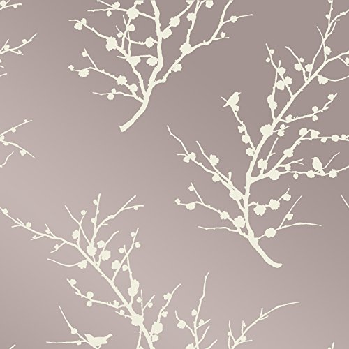 Tempaper Cherry Blossom Removable Wallpaper, ()