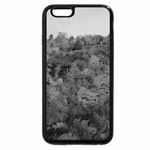 iPhone 6S Plus Case, iPhone 6 Plus Case (Black & White) - Treetops Of Autumn