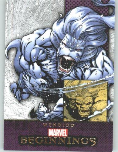 Marvel Beginnings #338 Wendigo (Non-Sport Comic Trading Cards)(Upper Deck - 2012 Series 2)