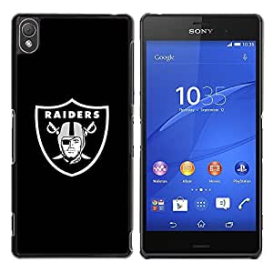 LOVE FOR Sony Xperia Z3 RAIDER HOCKEY Personalized Design Custom DIY Case Cover