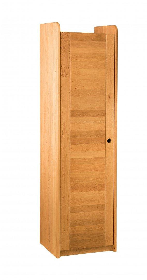BioKinder 23165 Lara Spar-Set Regal mit Tür aus Massivholz 160 x 44 x 35 cm