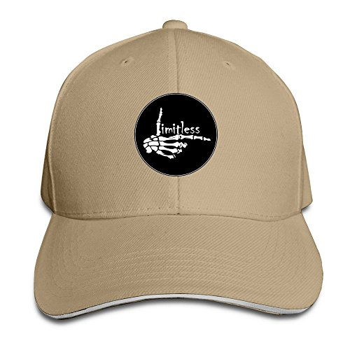 unisex-limitless-logo-fitted-cap