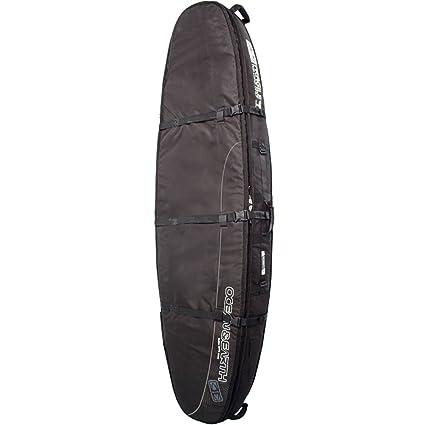 Mar y tierra doble ataúd Negro/Gris Bolsa para tabla de surf ...