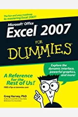 Excel 2007 For Dummies Kindle Edition