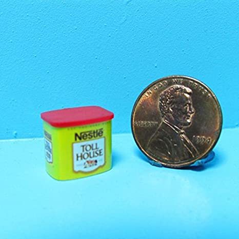 Amazoncom Dollhouse Miniature Replica Container Of Nestle Toll