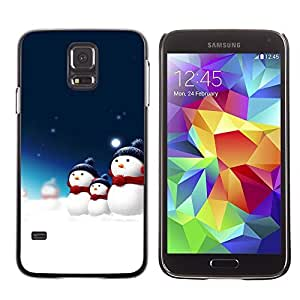 YOYO Slim PC / Aluminium Case Cover Armor Shell Portection //Christmas Holiday Santa Claus Holiday 1051 //Samsung Galaxy S5