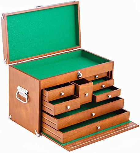 Trinity de madera 8 cajones caja de herramientas: Amazon.es: Bricolaje y herramientas