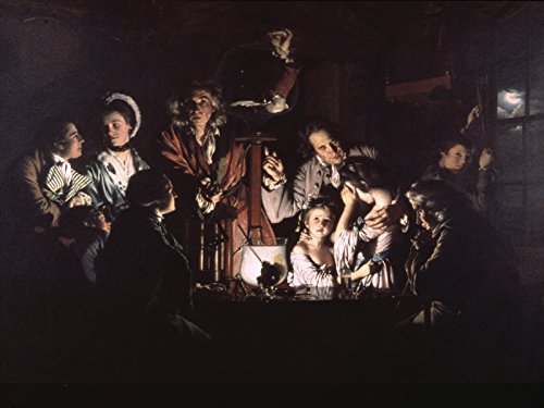 Masterworks - Tate Gallery - London - Joseph Wright of Derby - An Experiment on a Bild in the Air - Pump Derby