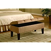 Coaster Home Furnishings 300348 Transitional Bench, Tan