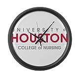 CafePress - Houston College Of Nursing - Large 17'' Round Wall Clock, Unique Decorative Clock