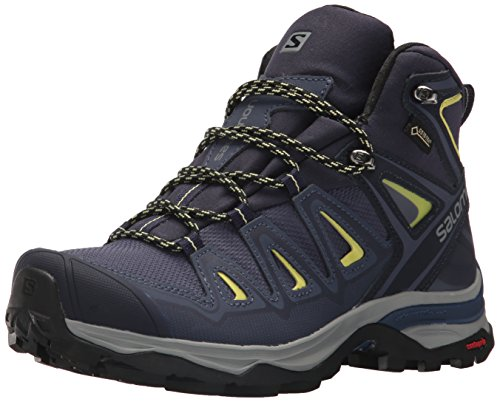 Salomon Women's X Ultra 3 Mid GTX W Hiking Boot,Crown Blue,9 M US ()