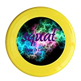 Kim Lennon Squat Drop It Low Girl Custom Outdoor Plastic Flying Disc Colors And Styles Vary Yellow Size One Size