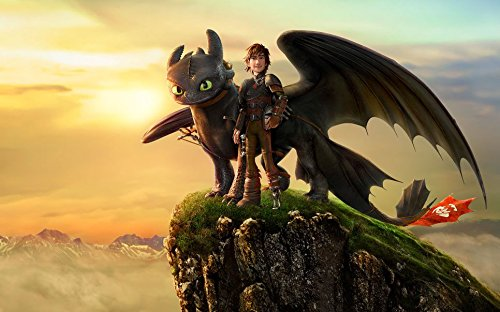 How to Train Your Dragon 2 Poster On Silk - E52FAE 38x24 inch> - E52FAE Hecules Posters