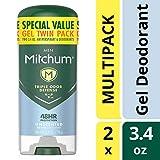 Mitchum Men Gel Antiperspirant Deodorant Twin