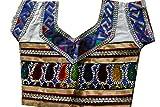 Samudrika Designer Embroidered Garba Lehenga Chaniya Choli Cotton Size 4 Years