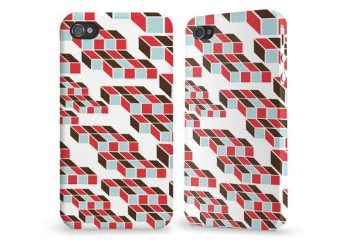 """Hülle / Case / Cover für iPhone 4 und 4s - """"Geometrie"""" von caseable"""