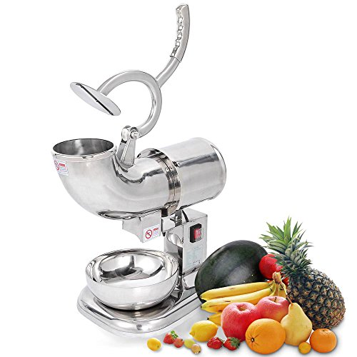 DragonPad Commercial Ice Shaver Crusher Machine Shaved Snow Cone Maker 440 Pounds Per Hour by DragonPad