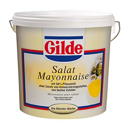 Gilde Salat-Mayonnaise 50% Pflanzenöl, DLG prämiert, Eimer (10 kg)