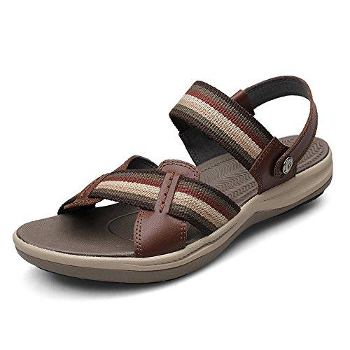 Sandalias zapatos de playa de verano de rocío masculino Cool refrescantes zapatillas masculinas ( Color : 1 , Tamaño : EU36/UK3.5/CN36 ) 2