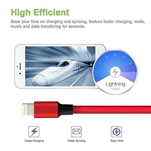 5X 10FT USB TO 30 PIN RED CABLE DATA SYNC CHARGER SAMSUNG GALAXY TAB TABLET 7.0