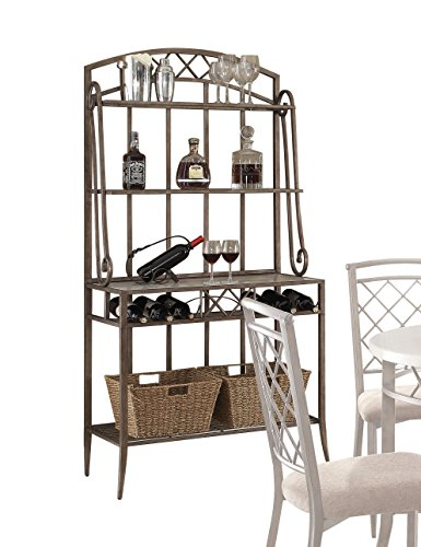 Acme Aldric Faux Marble Baker's Rack, Antique Finish by Acme Furniture (Image #1)
