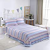 Hllhpc Cotton bed cover