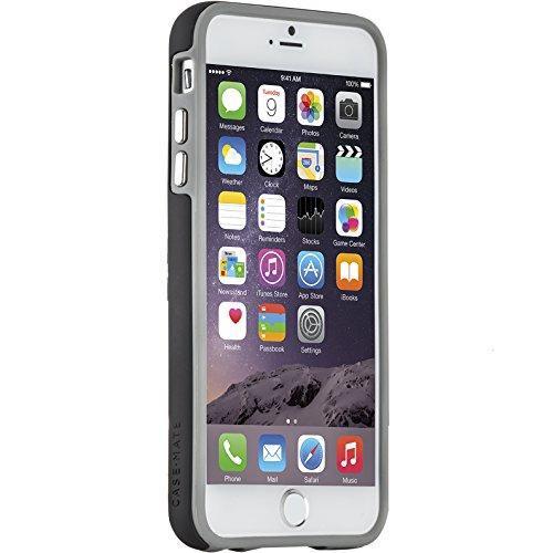 Case-Mate Tough Stand Schutzhülle für Apple iPhone 6 Plus / 6S Plus [Standfunktion | Extrem robust | Stoßabsorbierend | Soft-Touch Beschichtung | Hybrid | Tasten in Metall Optik] - CM033612