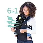 LÍLLÉbaby The COMPLETE All Seasons SIX-Position, 360° Ergonomic Baby & Child Carrier, Black