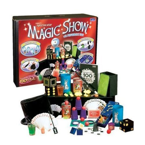 Show Suitcase Magic (Ultimate 100 Trick Magic Show Suitcase - Includes Bonus Pop Toob! by POOF)