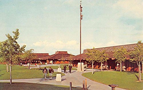 Los Altos Hills California Foothill College Academic Mall Postcard - The Mall Foothills