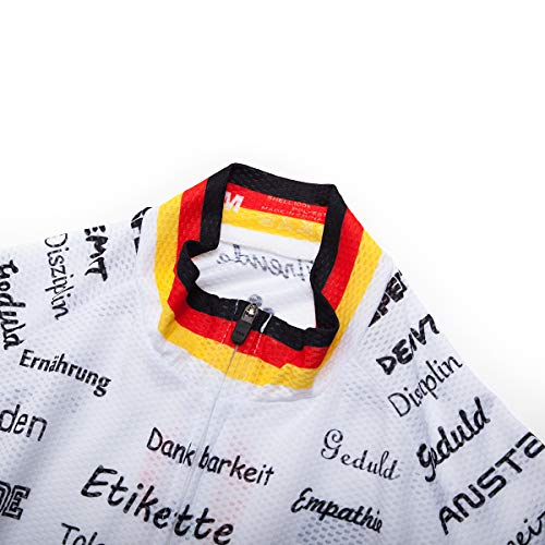 Salopette Corta Set de Abbigliamento Per Uomo Maglie Italian Mtb Nuovo Manica Ciclismo Logas f0FSaw