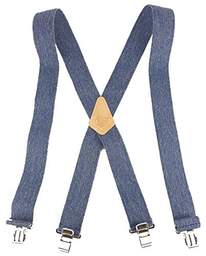 CUSTOM SUSPENDERS STRONG METAL AMERICAN