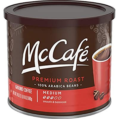 McCafe Premium Medium Roast Ground Coffee Blend (24oz Tin) from MC CAFE