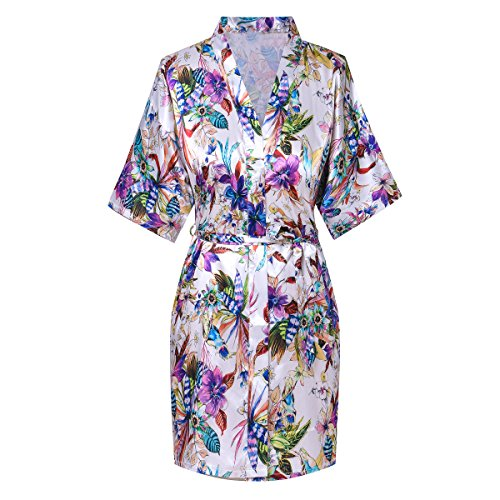 French Floral Robe - 6