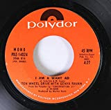TEN WHEEL DRIVE WITH GENYA RAVAN 45 RPM I AM A WANT AD / EYE OF THE NEEDLE