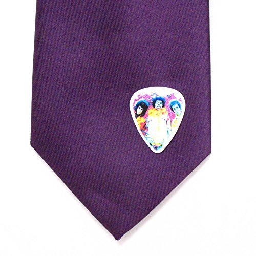 Jimi Hendrix Guitar Pick Lapel Pin Tie Tack Music Experience Psychedelic Rock