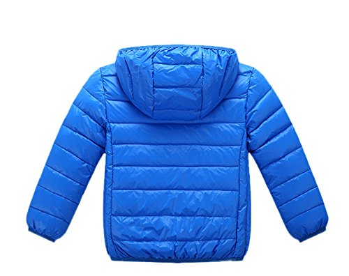 Down Jacket Black Children Boys Royalblue Girls Winter Chic Lemonkids;® Lightweight Anoraks q7PFww