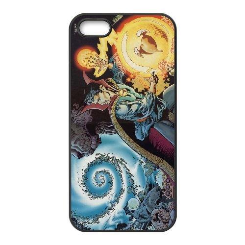 Doctor Strange 001 coque iPhone 5 5S cellulaire cas coque de téléphone cas téléphone cellulaire noir couvercle EOKXLLNCD23260