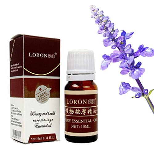 Massage Aroma Oil, Lotus.flower 10ML Pure & Natural Aromatherapy Essentials Oil Therapeutic Grade Special for Diffuser Humidifier ()